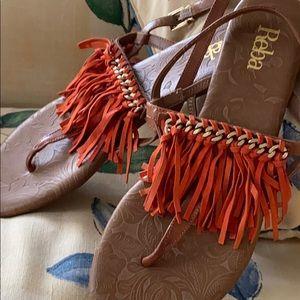 Reba MacIntire sandals